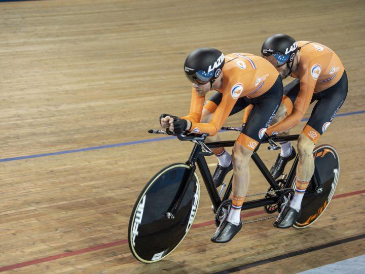 Bronzen medaille paralympische tandem Ter Schure/Fransen op achtervolging [Persbericht]