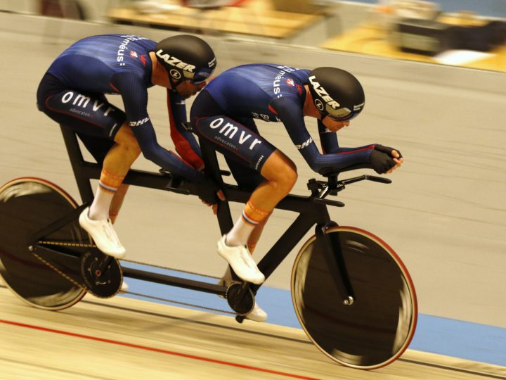 Team VIT Tandem Hour Record 53.875